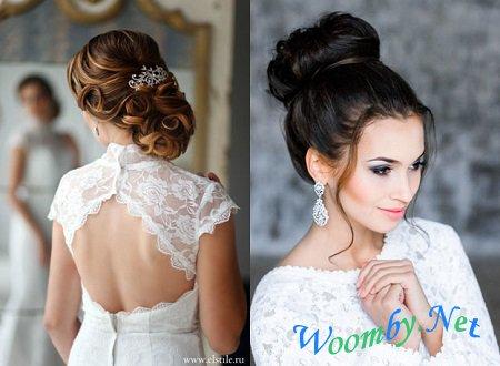 Свадебная прическа с диадемой - 17330